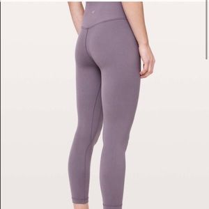 Lululemon wunder under tights sz 14